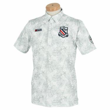 フィラ FILA メンズ ボタニカル柄 半袖 ポロシャツ 741-616 2021年モデル 詳細2
