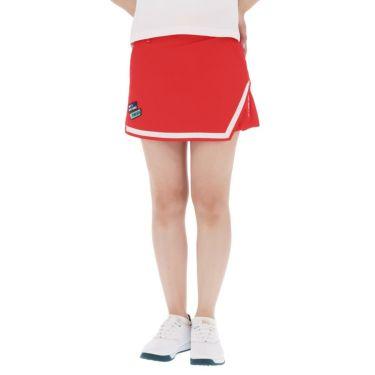 【ssプロパー】△フィラ レディース 撥水 ストレッチ キュロットスカート 751-301 ゴルフウェア [2021年春夏モデル] レッド(RD)