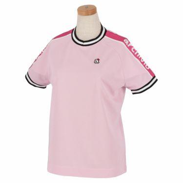 アルチビオ archivio レディース ロゴプリント 半袖 ラグランスリーブ クルーネックシャツ A059316 2021年モデル ピンク(029)