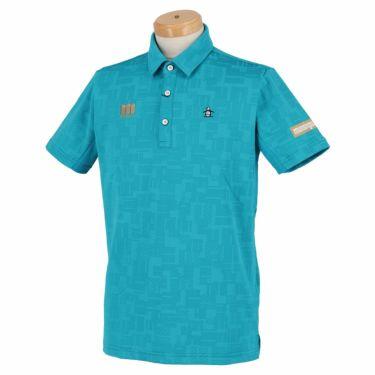 マンシングウェア Munsingwear メンズ メッシュ切替 半袖 ポロシャツ MEMRJA07 2021年モデル エメラルド(EM00)