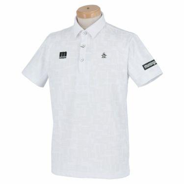 マンシングウェア Munsingwear メンズ メッシュ切替 半袖 ポロシャツ MEMRJA07 2021年モデル ホワイト(WH00)