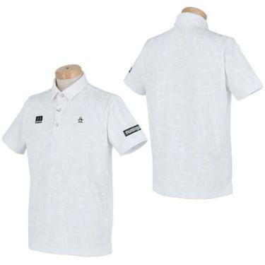 マンシングウェア Munsingwear メンズ メッシュ切替 半袖 ポロシャツ MEMRJA07 2021年モデル 詳細3