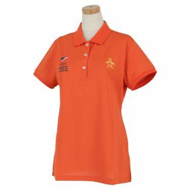 マンシングウェア Munsingwear レディース 背面ロゴプリント 半袖 ポロシャツ MGWRJA06X 2021年モデル オレンジ(OR00)