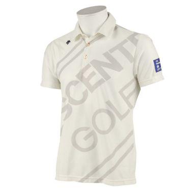 デサントゴルフ DESCENTE GOLF メンズ ロゴグラフィック 半袖 ポロシャツ DGMRJA48 2021年モデル ベージュ(BG00)