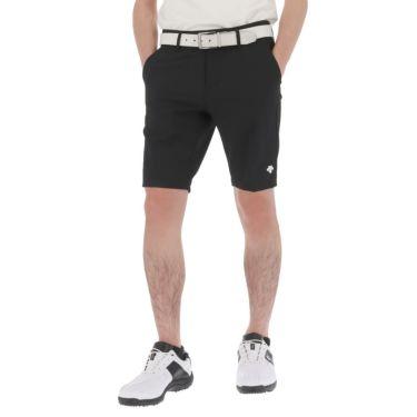 デサントゴルフ DESCENTE GOLF メンズ サッカー生地 ストレッチ ショートパンツ DGMRJD56 2021年モデル ブラック(BK00)