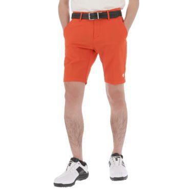 デサントゴルフ DESCENTE GOLF メンズ サッカー生地 ストレッチ ショートパンツ DGMRJD56 2021年モデル オレンジ(OR00)