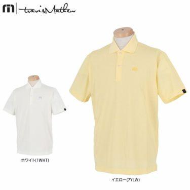 トラヴィスマシュー Travis Mathew メンズ ロゴ刺繍 ベーシック 半袖 ポロシャツ 7AD028 2021年モデル 詳細1