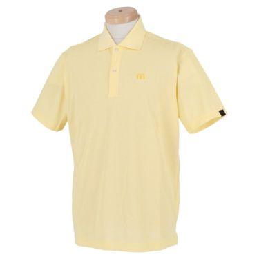 トラヴィスマシュー Travis Mathew メンズ ロゴ刺繍 ベーシック 半袖 ポロシャツ 7AD028 2021年モデル イエロー(7YLW)