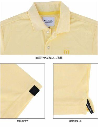トラヴィスマシュー Travis Mathew メンズ ロゴ刺繍 ベーシック 半袖 ポロシャツ 7AD028 2021年モデル 詳細4