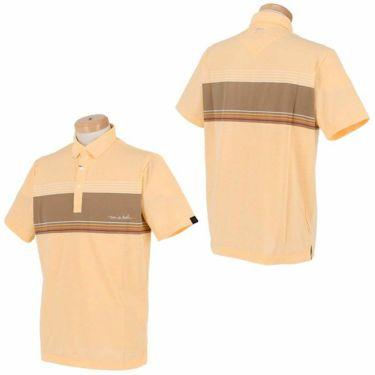 トラヴィスマシュー Travis Mathew メンズ ロゴ刺繍 ボーダー柄 天竺 半袖 ポロシャツ 7AD029 2021年モデル 詳細3