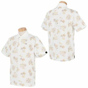 トラヴィスマシュー Travis Mathew メンズ ロゴ刺繍 総柄 グラフィックプリント 半袖 ポロシャツ 7AD031 2021年モデル 詳細3