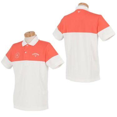キャロウェイ Callaway メンズ バイカラー 半袖 ポロシャツ 241-1134525 2021年モデル 詳細3