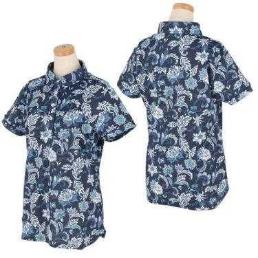 キャロウェイ Callaway レディース ペイズリー柄 半袖 ポロシャツ 241-1134819 2021年モデル 詳細3