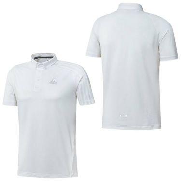 アディダス adidas メンズ メッシュ スリーストライプス 半袖 ボタンダウン ポロシャツ 23290 2021年モデル 詳細3