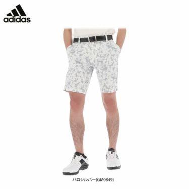 アディダス adidas メンズ 総柄 フラワープリント ストレッチ ショートパンツ 23127 2021年モデル 詳細1