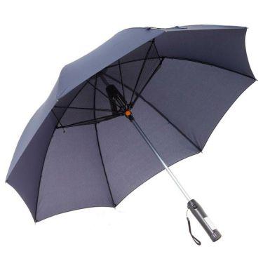 雨天兼用 扇風機付き傘 700903 NV ネイビー ネイビー(NV)