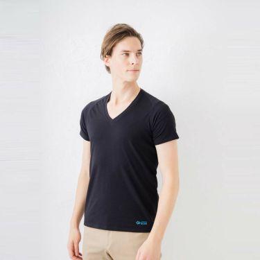 コラントッテ Colantotte メンズ RESNO レスノ マグケアシャツ Vネック T AJDJC01 ブラック 2021年モデル 詳細2