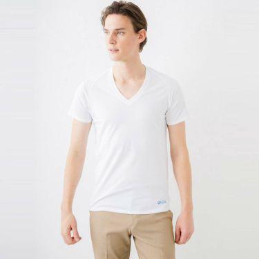 コラントッテ Colantotte メンズ RESNO レスノ マグケアシャツ Vネック T AJDJC03 ホワイト 2021年モデル 詳細2