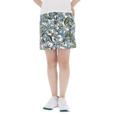 キャロウェイ Callaway レディース 総柄 フラワープリント ストレッチ スカート 241-1128813 2021年モデル ホワイト(030)