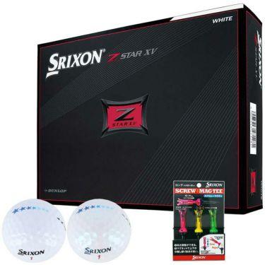 ダンロップ スリクソン Z-STAR XV 2021年モデル ゴルフボール 1ダース(12球入り) 7スターマークボール & SRIXONマグティー 詳細1