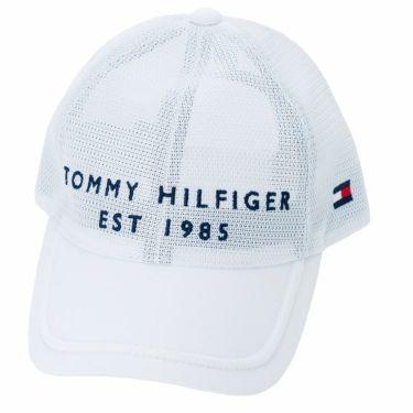 トミー ヒルフィガー ゴルフ オールメッシュ キャップ THMB217F 00 ホワイト 2021年モデル ホワイト(00)