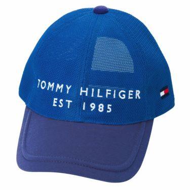 トミー ヒルフィガー ゴルフ オールメッシュ キャップ THMB217F 34 ブルー 2021年モデル ブルー(34)