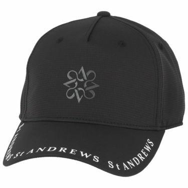 セントアンドリュース St ANDREWS ユニセックス ロゴプリント キャップ 042-1187551 010 ブラック 2021年モデル ブラック(010)