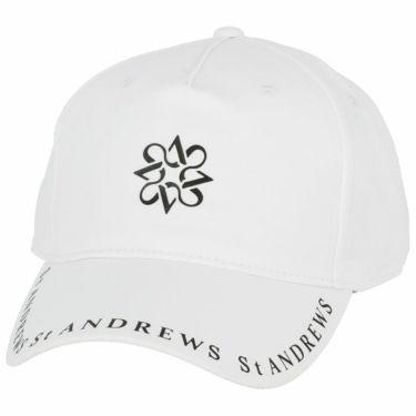 セントアンドリュース St ANDREWS ユニセックス ロゴプリント キャップ 042-1187551 030 ホワイト 2021年モデル ホワイト(030)
