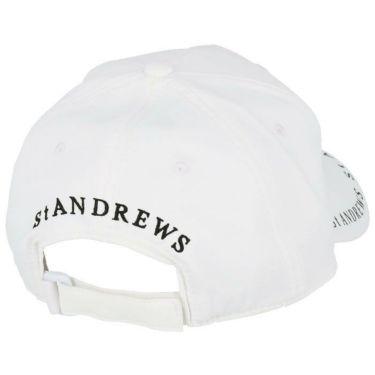 セントアンドリュース St ANDREWS ユニセックス ロゴプリント キャップ 042-1187551 030 ホワイト 2021年モデル 詳細1