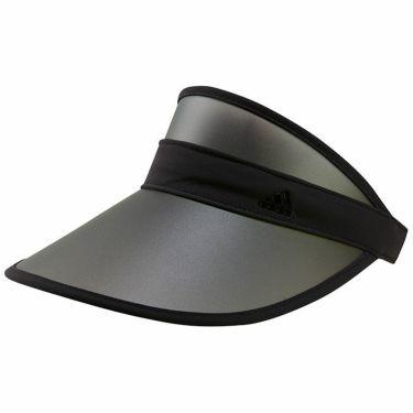 アディダス adidas レディース UV クリップ サンバイザー 22943 GL8726 ブラック/ブラック 2021年モデル ブラック/ブラック(GL8726)