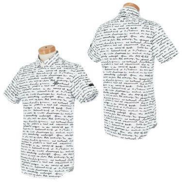 セントアンドリュース St ANDREWS メンズ 鹿の子 総柄プリント 半袖 ポロシャツ 042-1160355 2021年モデル 詳細3