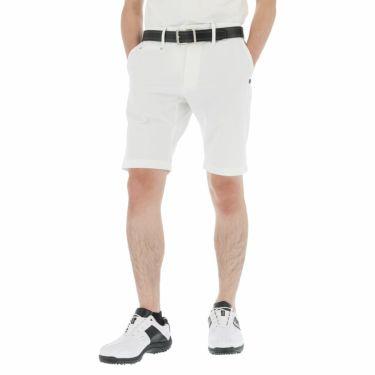 セントアンドリュース St ANDREWS メンズ ロゴ刺繍 2WAYストレッチ ショートパンツ 042-1132551 2021年モデル ホワイト(030)