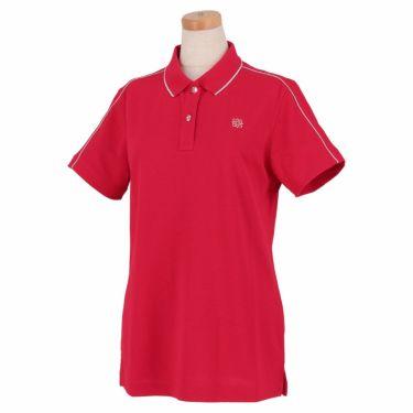 セントアンドリュース St ANDREWS レディース 鹿の子 ロゴ刺繍 半袖 ポロシャツ 043-1160352 2021年モデル ピンク(090)