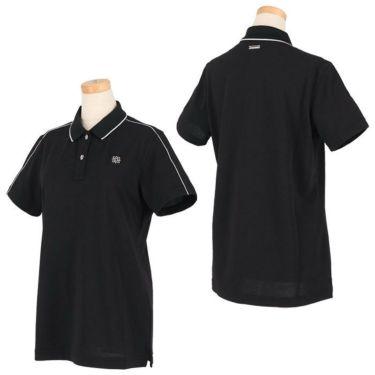 セントアンドリュース St ANDREWS レディース 鹿の子 ロゴ刺繍 半袖 ポロシャツ 043-1160352 2021年モデル 詳細3