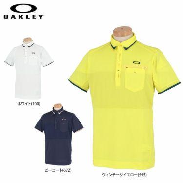 オークリー OAKLEY メンズ 生地切替 半袖 ポロシャツ FOA402502 2021年モデル 詳細1