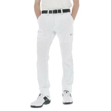 【ssプロパー】△オークリー メンズ ストレッチ 7ポケット ロングパンツ FOA402498 ゴルフウェア [2021年春夏モデル] ホワイト(100)
