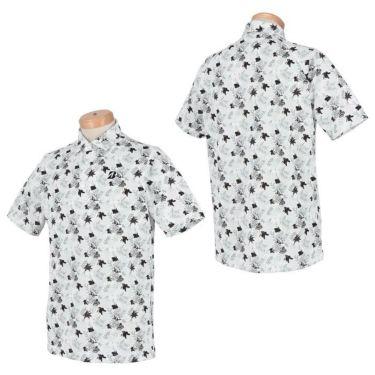 ブリヂストンゴルフ メンズ ボタニカル柄 メッシュ生地 半袖 ポロシャツ TGM05A 2021年モデル 詳細3