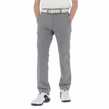 ブリヂストンゴルフ メンズ ミニギンガムチェック柄 ストレッチ ストレート ロングパンツ TGM30K 2021年モデル [裾上げ対応1●] ブラック(BK)