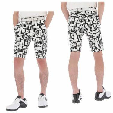 マンシングウェア Munsingwear メンズ 総柄プリント 高通気 ショートパンツ MEMRJD52 2021年モデル 詳細3