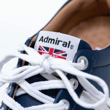 アドミラル Admiral MARHAM マーハム スパイクレス ゴルフシューズ ADMS7S 30 ネイビー 詳細2