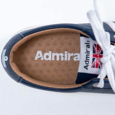アドミラル Admiral MARHAM マーハム スパイクレス ゴルフシューズ ADMS7S 30 ネイビー 詳細4