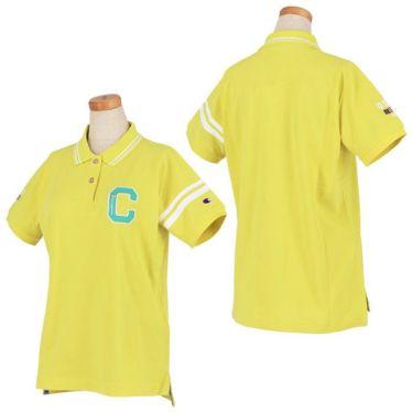 チャンピオンゴルフ ChampionGOLF レディース ロゴ刺繍 袖ライン 鹿の子 半袖 ポロシャツ CW-TG312 ゴルフウェア 2021年モデル 詳細3