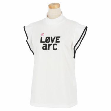 アルチビオ archivio レディース プリントデザイン ノースリーブ モックネックシャツ A059503 2021年モデル ホワイト(090)