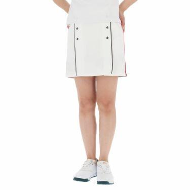 アルチビオ archivio レディース 切替デザイン ボーダー柄 スカート A056420 2021年モデル ホワイト(290)