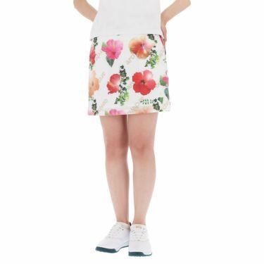 アルチビオ archivio レディース ハイビスカス柄 ストレッチ スカート A056514 2021年モデル ピンク(125)