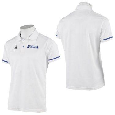 ルコック Le coq sportif メンズ ロゴプリント ワッフルメッシュ 半袖 ポロシャツ QGMRJA35 2021年モデル 詳細3