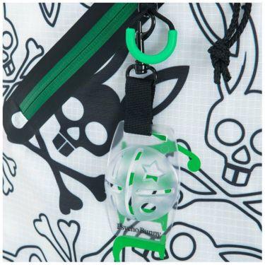 サイコバニー PsychoBunny LIGHT-WEIGHT ロゴプリント 軽量 スタンド キャディバッグ PBMG1SC7 60 グリーン 2021年モデル 詳細5