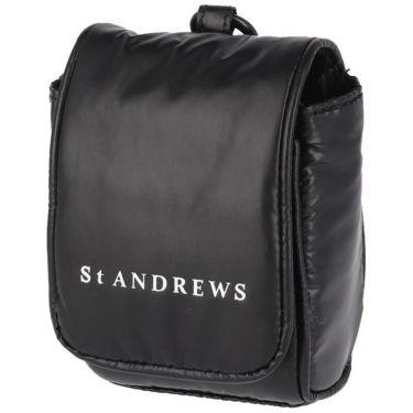 セントアンドリュース St ANDREWS ユニセックス ロゴプリント ポーチ 042-1984354 010 ブラック 2021年モデル ブラック(010)