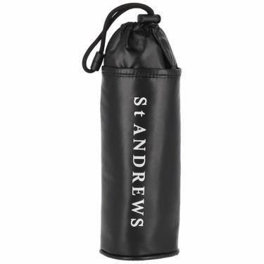 セントアンドリュース St ANDREWS ユニセックス ロゴプリント ペットボトルケース 042-1984355 010 ブラック 2021年モデル ブラック(010)
