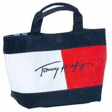 トミー ヒルフィガー ゴルフ リバーシブル ラウンドバッグ THMG1SB6 34 ブルー 2021年モデル 詳細1